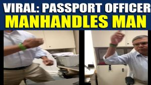 Ghaziabad Passport Seva Kendra APO abuses and manhandles man, video goes viral