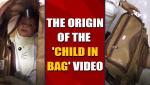 No, a child was not being trafficked in a bag from Karachi to Dubai