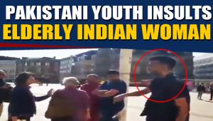 Pakistani youth insults elderly Indian woman in Birmingham, Video goes viral