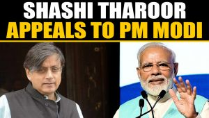 Shashi Tharoor reacts to FIR against Celeb