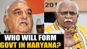 Hectic negotiations underway for govt formation in Haryana