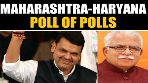 Haryana & Maharashtra assembly exit polls in BJP's favour