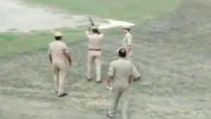 Police fails to fire tear gas during mock drill in Ballia