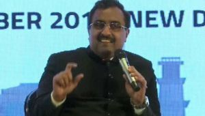 BJP open to idea of India's engagement with more countries  : Ram Madhav