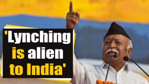 RSS chief calls Lynching reports as an attempt to defame India