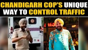 Chandigarh Cop's Daler Mehndi song on 'no parking' goes viral