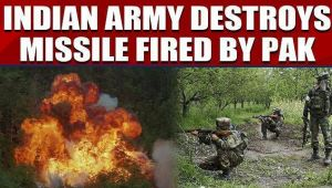 Indian Army destroys two missile shells fired by Pakistan forces, video goes viral...