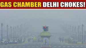 Delhi's air quality remains severe despite showers