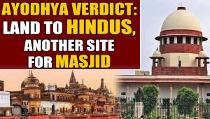 The Ayodhya verdict: Muslims to get alternative site for masjid