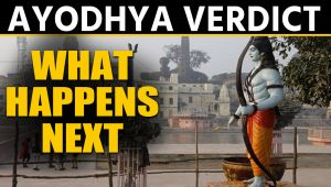 Ayodhya verdict is delivered and now this is what happens next