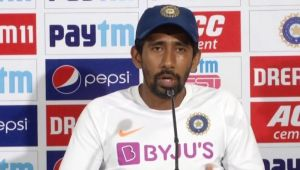 Wriddhiman Saha says wicketkeeping with pink ball is Challenging