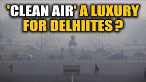 Delhi's AQI improves from 'severe' to 'very poor'