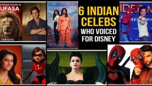From Shah Rukh Khan to Kajol, the Indian celebs who dubbed for Disney