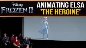 Frozen 2: How animators tell an entire story through Elsa's movements