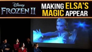 Frozen 2: How the effects team made Elsa's magic appear