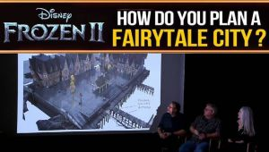 Frozen 2 : The environments team tells us how they planned the city of Arendelle