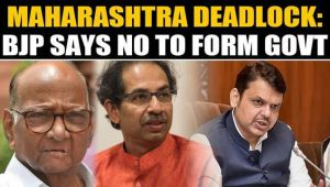 Maha deadlock: BJP declines governor invitation for government formation