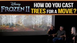 The environments team tells us how they 'designed' a 'natural' forest