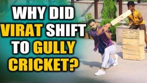 Virat Kohli takes part in Gully Cricket with kids, video goes viral