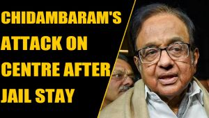 Citizenship Bill: Chidambaram's blistering on Centre attack after jail stay