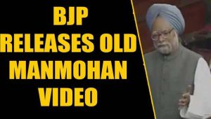 BJP releases Manmohan's old video supporting citizenship to refugees: Watch