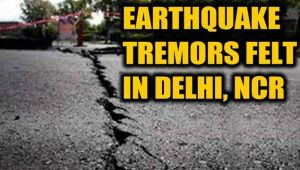 Earthquake tremors felt in Delhi-NCR, epicentre in Afghanistan.....