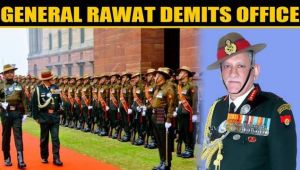 General Bipin Rawat demits office, takes over as Chief of Defence Staff