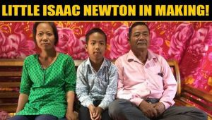 Imphal boy becomes youngest to appear in Class 10 board exams......