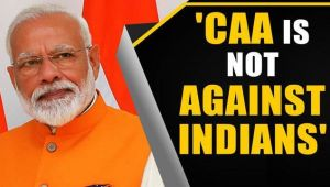 PM Modi appeals for calm after nationwide Anti-CAA protests.