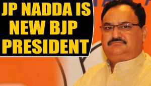 JP Nadda takes over as new BJP President, Amit Shah hands over reins..