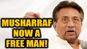 Death sentence of former Pak Prez Pervez Musharraf overturned, can walk freely