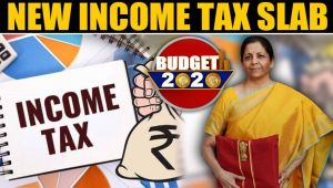 Budget 2020: Announcement of new income tax slab, everyone gets relief