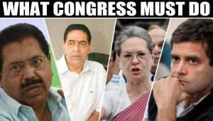 Congress draws a blank, huge cut in vote share, blame game begins