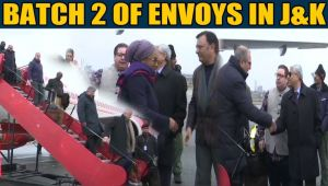 Second batch of foreign envoys visit J&K to assess ground situation