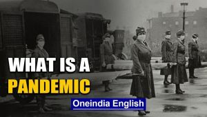 What is a Pandemic, when does an epidemic gets classified as Pandemic: Watch