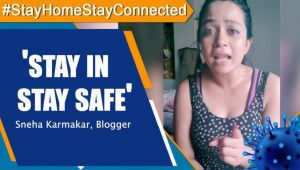 Blogger Sneha Karmaka : You will be doing your part for the nation by staying in
