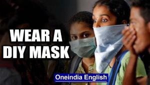Govt urges the healthy to wear DIY masks, not use up medical grade supply