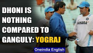 DHONI HASN'T DONE ANYTHING FOR INDIAN CRICKET, COMPARED TO GANGULY: YOGRAJ SINGH