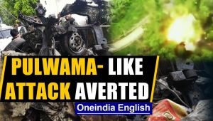 In J&K, a 2019 Pulwama-like terror attack averted, car seized & destroyed