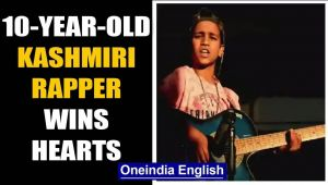 10-yr-old boy from Pulwama wins heart with his rap: Watch