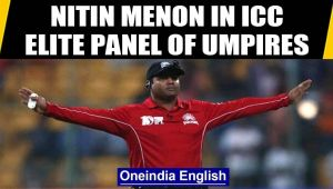 Nitin Menon promoted to ICC Elite Panel of Umpires, becomes youngest Indian to do so
