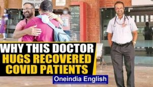 Goa's Doctor Edwin Gomes gives warm send-off to recovered Covid patients. Why?