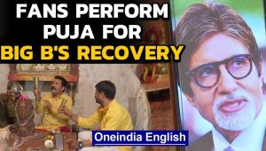 Amitabh tests positive, fans perform puja for speedy recovery
