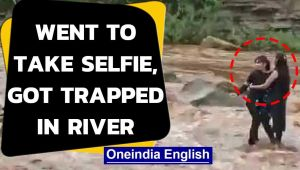 Two MP girls ventured into the Pench river to take a selfie, get trapped in swelling water