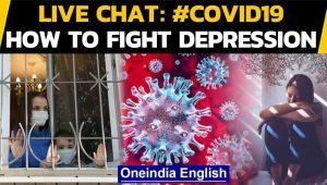Covid-19: Live chat on how to fight back depression and anxiety during the pandemic
