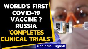 Coronavirus: Russian University claims successful trials of 1st Covid vaccine