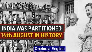 India was partitioned & Pakistan gained independence and other events in history