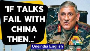 India-China border stadoff: General Rawat says military option is on table