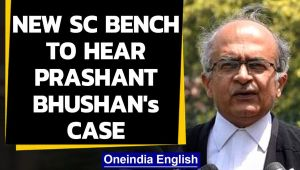New SC bench to hear 2009 contempt of court case against Prashant Bhushan