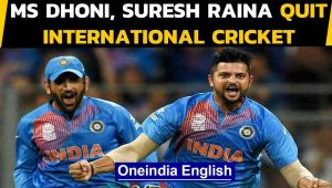 MS Dhoni, Suresh Raina retire from international cricket